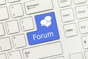 Uso del foro de formación en e-learning