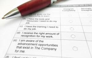 Ejemplos de encuestas de ambiente laboral