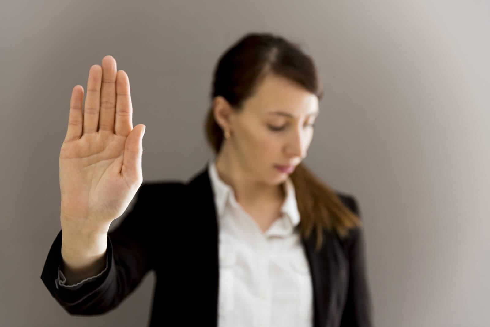 5 técnicas para aprender a decir NO en el trabajo con elegancia