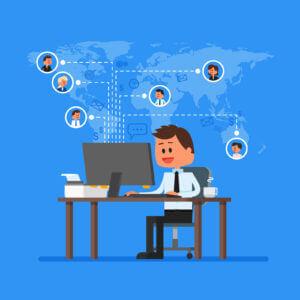 Decálogo para alinear equipos cuando los empleados no están en la oficina