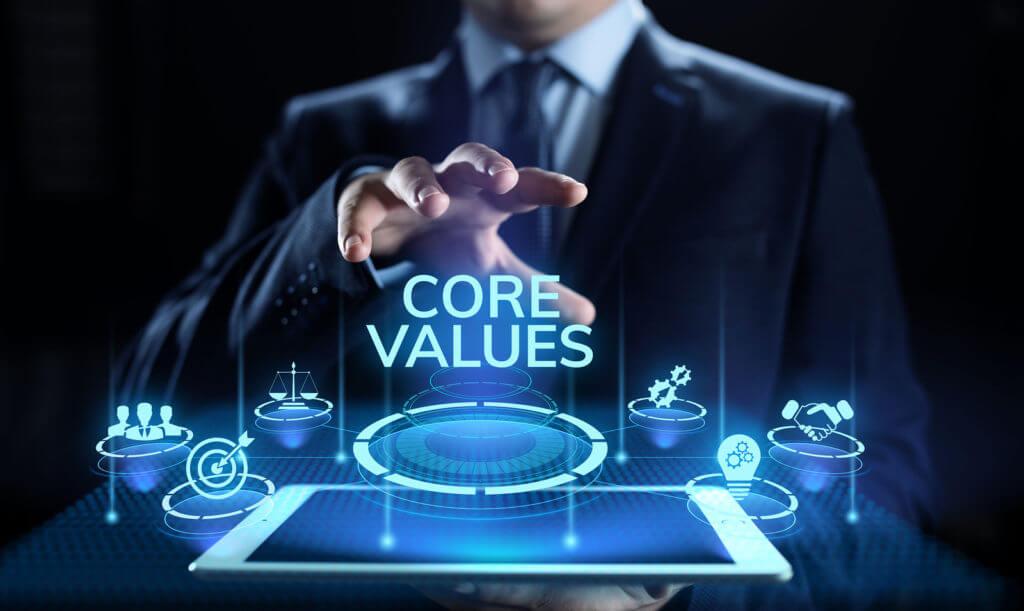 Valores en la empresa