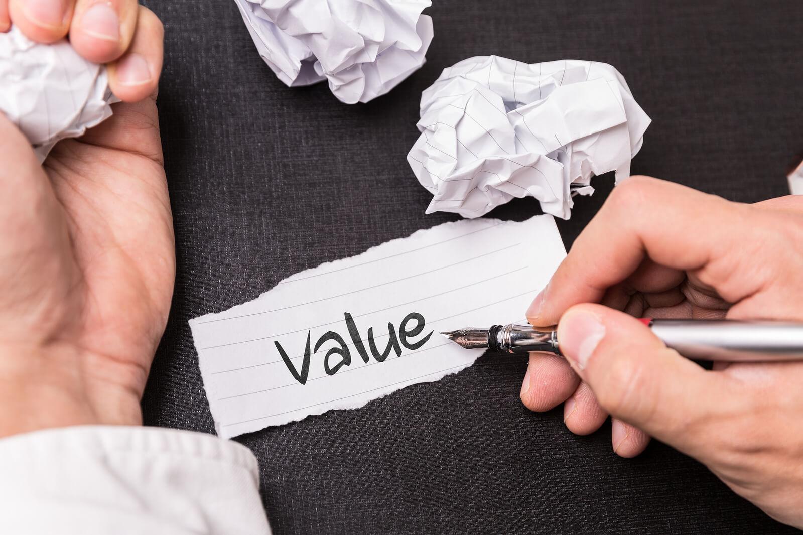 Cómo evaluar los valores profesionales a través de tests psicométricos